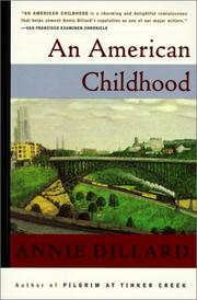 Cover of: An American Childhood | Annie Dillard