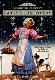 Cover of: Patsy's Discovery (Daughters of Liberty