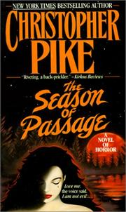 Cover of: The Season of Passage