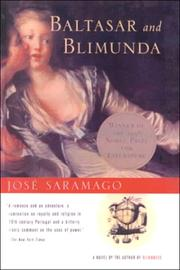 Cover of: Baltasar and Blimunda