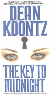 Cover of: The key to midnight