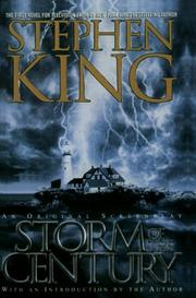 Cover of: Storm of the century: An Original Screenplay