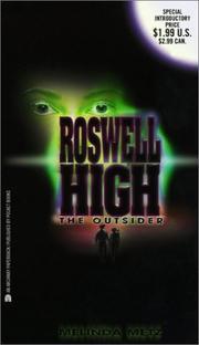 Cover of: The Outsider (Roswell High)