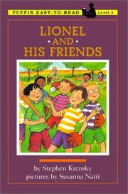 Cover of: Lionel and His Friends | Stephen Krensky