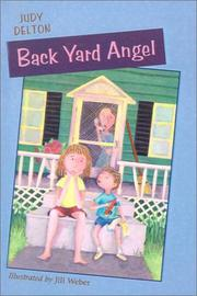 Cover of: Back Yard Angel | Judy Delton