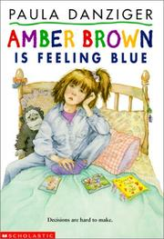 Cover of: Amber Brown Is Feeling Blue (Amber Brown)
