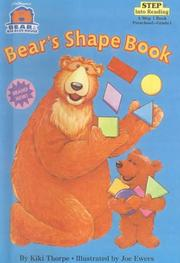 Cover of: Bears Shape Book