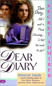 Secret Admirer (Dear Diary Series #4)