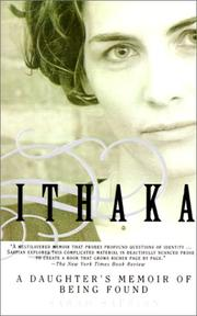 Cover of: Ithaka | Sarah Saffian