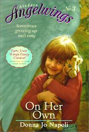 Cover of: On Her Own (Aladdin Angelwings)
