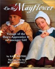 Cover of: On the Mayflower | Kate Waters