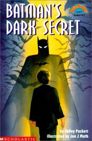 Cover of: Batman's Dark Secret