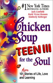 Cover of: Chicken Soup for the Teenage Soul III