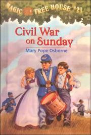 Cover of: Civil War on Sunday | Mary Pope Osborne