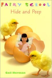 Cover of: Hide and Peep (Fairy School)