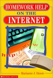 Cover of: Homework Help on the Internet
