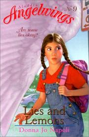 Cover of: Lies and Lemons (Aladdin Angelwings)