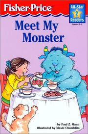 Cover of: Meet My Monster