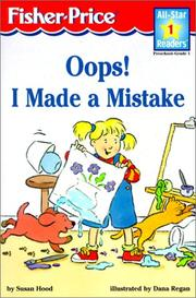 Cover of: OOPS! I Made a Mistake