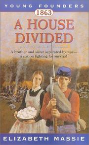 Cover of: House Divided, 1863 (Young Founders)