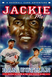 Cover of: Jackie and Me (Baseball Card Adventures (Library})