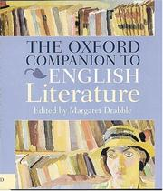 Cover of: The Oxford companion to English literature