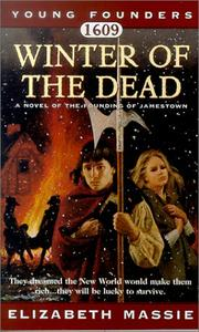 Cover of: Winter of the Dead, 1609 (Young Founders)