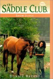 Cover of: Show Judge | Bonnie Bryant