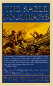Cover of: The Sable Doughboys (Black Sabre Chronicles)