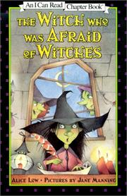 Cover of: Witch Who Was Afraid of Witches (I Can Read Chapter Books (Harper))