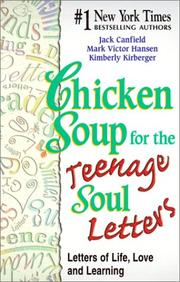 Cover of: Chicken Soup for the Teenage Soul Letters