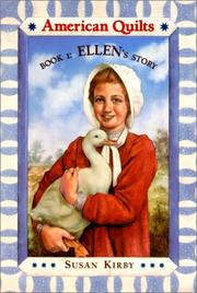 Cover of: Ellen's Story (American Quilts, Book 1)