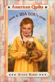 Cover of: Ida Lou's Story (American Quilts, Book 4)