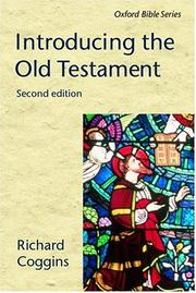 Cover of: Introducing the Old Testament | R. J. Coggins