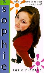 Cover of: Sophie (Fab Five) | Rosie Rushton