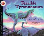 Cover of: Terrible Tyrannosaurs
