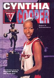 Cover of: Cynthia Cooper (Women Who Win) | Robert Schnakenberg