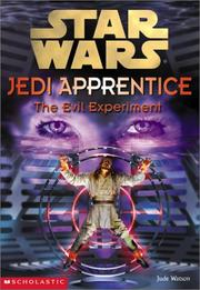 Cover of: Evil Experiment (Star Wars: Jedi Apprentice)