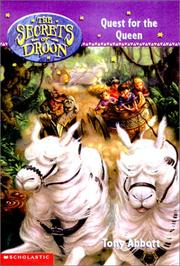 Cover of: Quest for the Queen (Secrets of Droon)
