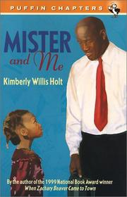 Cover of: Mister and Me