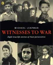 Cover of: Witnesses to War
