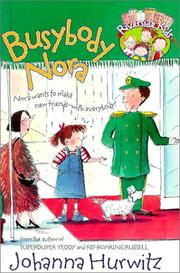 Cover of: Busybody Nora (Riverside Kids)