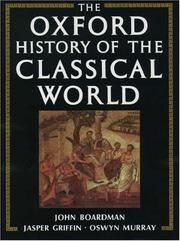 The Oxford history of the classical world