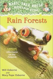 Cover of: Rain forests