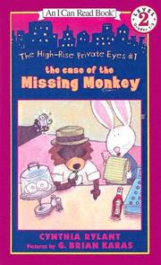 Cover of: Case of the Missing Monkey