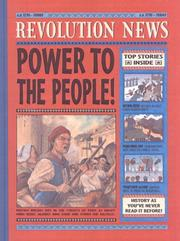 Cover of: Revolution (History News (Candlewick))