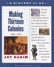 Cover of: Making Thirteen Colonies (History of US