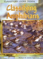 Cover of: Amphibians (Classifying Living Things)