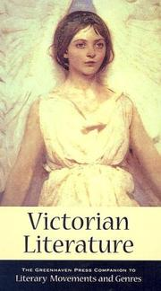 Cover of: Victorian Literature (Greenhaven Press Companion to Literary Movements and Genres)