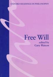 Cover of: Free will |